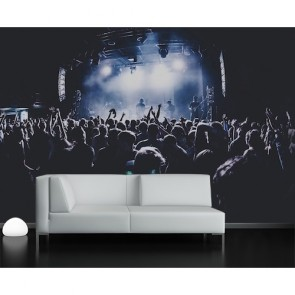 Concert Gebied Fotobehang - Gelijmde