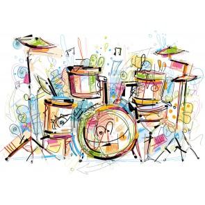 Kleurrijke Drums