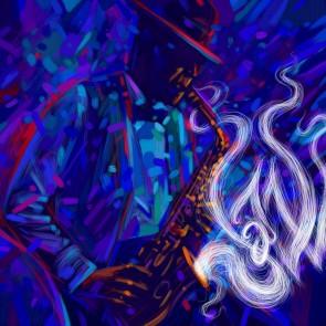 Kunst In Jazzstijl