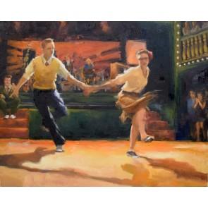 Lindy Hop Dance Choreo