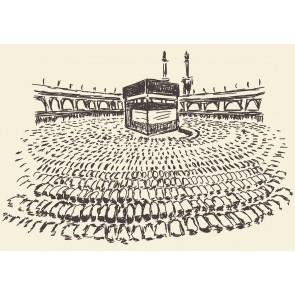 Houtskool Kaaba