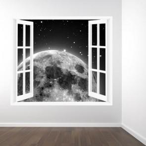 Opkomst Van De Maan Fotobehang 3D