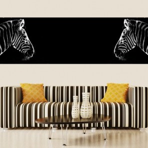 Zebra Behang 3D