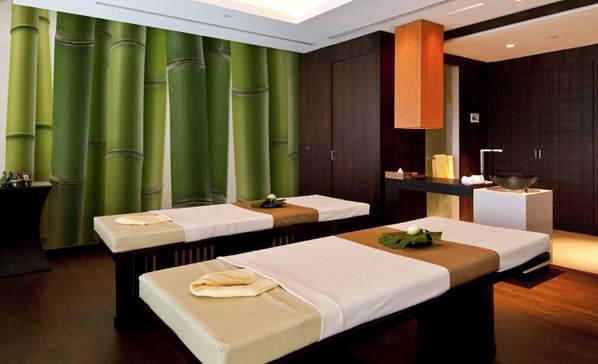 Behang voor hotelkamers