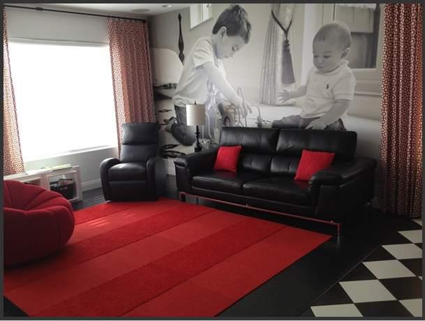 Behang voor woonkamer