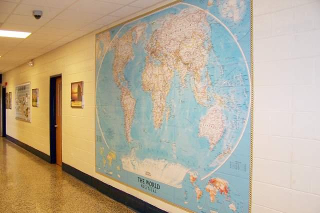 Behang voor school en kleuterschool