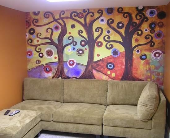 Behang voor kunstliefhebbers